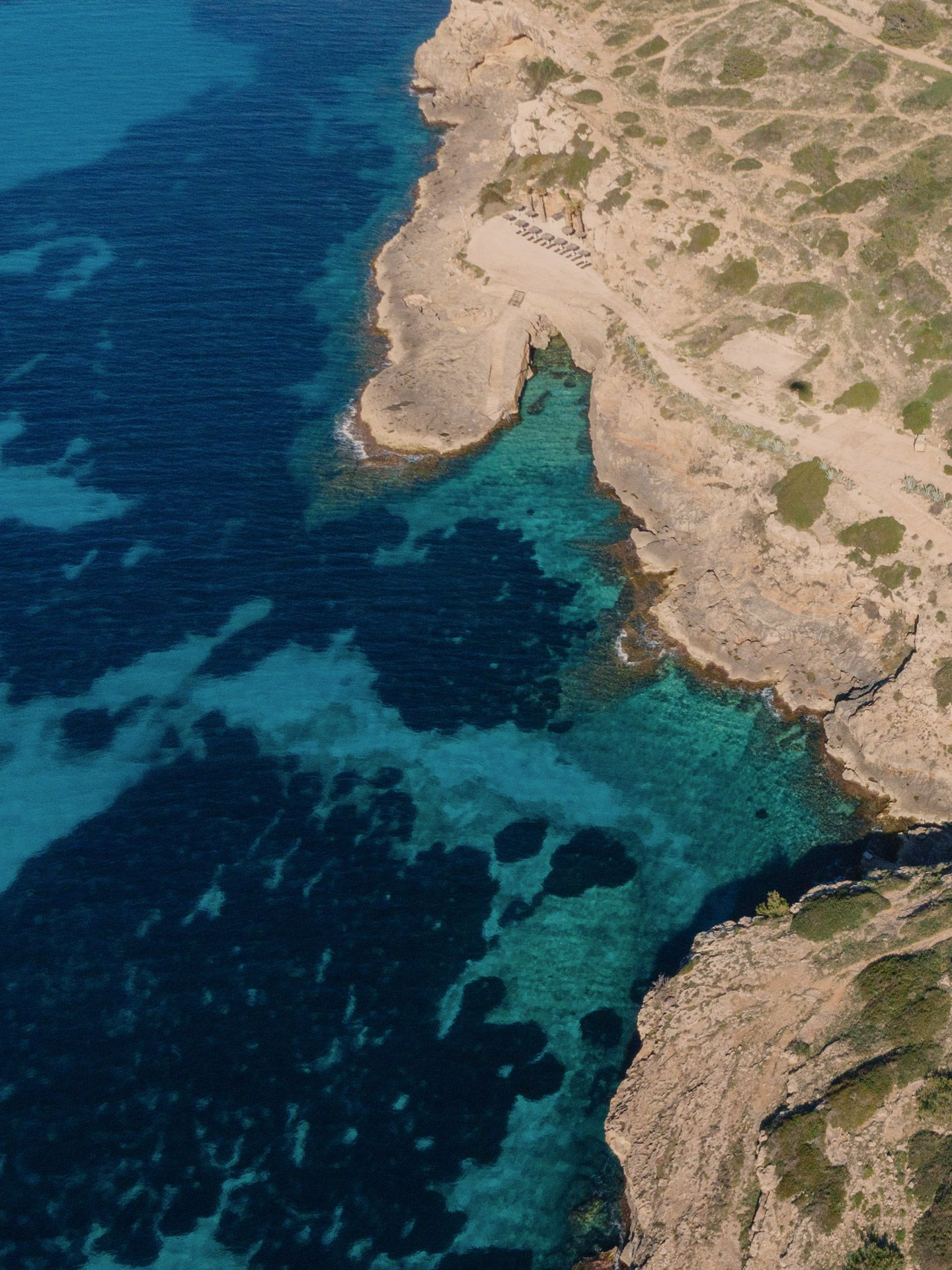 CAP ROCAT aerial shot nature