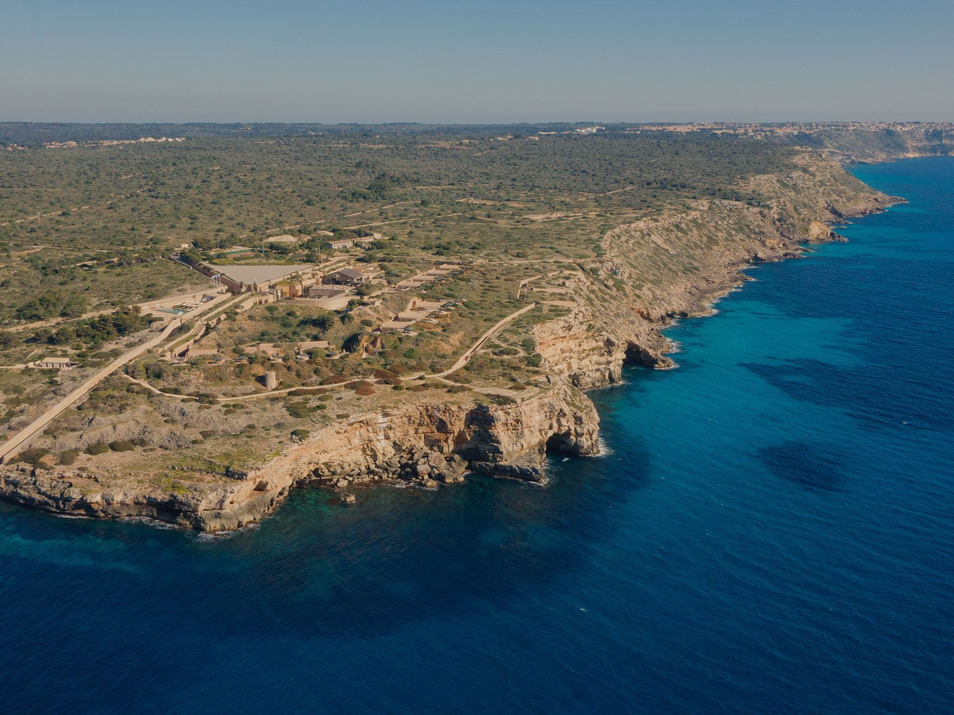 CAP ROCAT aerial shot from the se